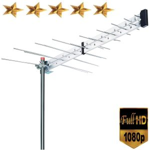 Premium BoostWaves Yagi Roof Top TV Antenna