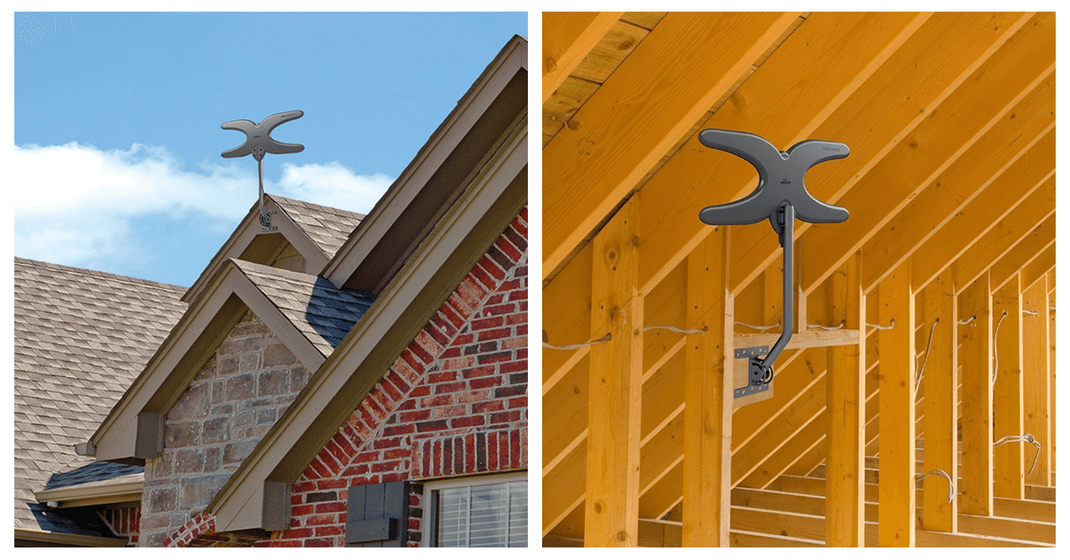 How to choose a TV antenna for metal roof