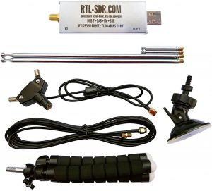 RTL-SDR Blog V3 Software Defined Radio with Dipole Antenna Kit
