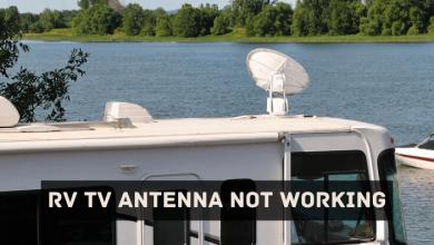 RV TV Antenna Not Working