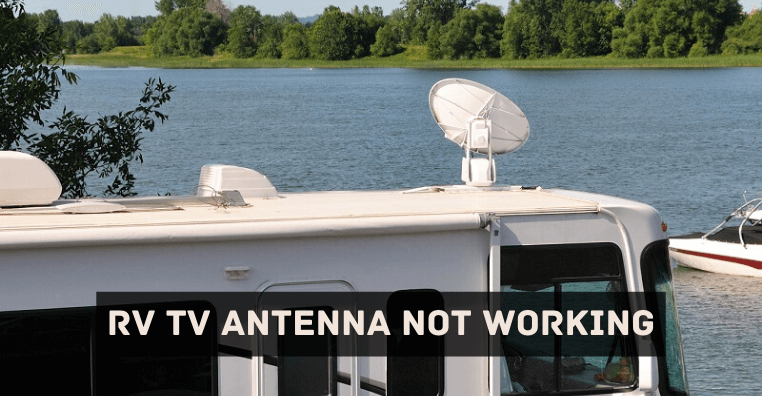 RV TV Antenna Not Working