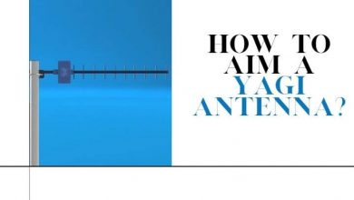 How to aim a Yagi antenna
