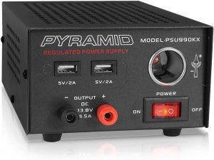 Pyramid PSU990KX Universal Compact Bench Power Supply